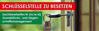 2020 Stellenangebot Gebäude- und Liegenschaftsmanagement [(c) Stadtverwaltung Oberlungwitz]
