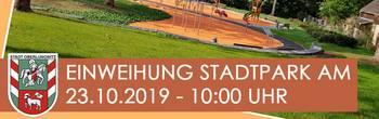 Einweihung Stadtpark Oberlungwitz