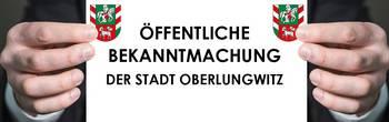 Öffentliche Bekanntmachung Stadt Oberlungwitz [(c) Thomas Hetzel]